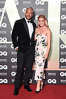 LONDON, UK. September 03, 2019: Chris Robshaw & Camilla Kerslake arriving for the GQ Men of the Year Awards 2019 in association with Hugo Boss at the Tate Modern, London.<br /> Picture: Steve Vas/Featureflash