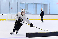 June 26, 2018: Boston Bruins forward Mitchell Fossier (81) does a drill during the Boston Bruins development camp held at Warrior Ice Arena in Brighton Mass. Eric Canha/CSM