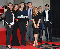 Amy Adams &amp; entourage at Hollywood Walk of Fame Star Ceremony honoring actress Amy Adams.<br /> Los Angeles, USA 11th January  2017<br /> Picture: Paul Smith/Featureflash/SilverHub 0208 004 5359 sales@silverhubmedia.com