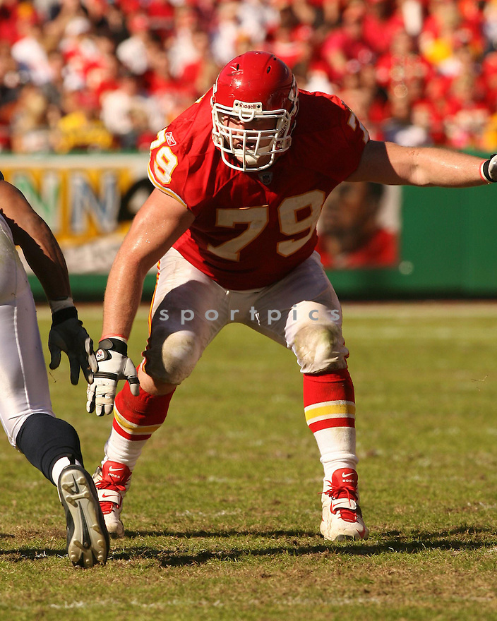 KEVIN SAMPSON, of the Kansas City Chiefs in action against the Seattle Seahawks on October 29, 2006 in Kansas City, MO...Chiefs win 35-28..Kevin Tanaka/ SportPics
