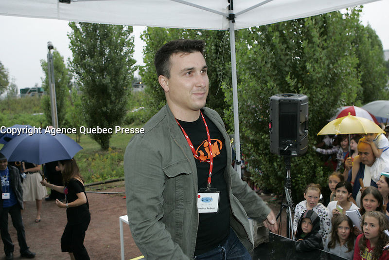 Montreal (Qc) CANADA - August 2009 20 file Photo : Vrak TV anti Gala at La Tohu :