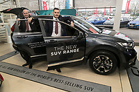 Vertu Honda dealership Nottingham. Pictured from left are Anthony Curry and Mark Whitehead