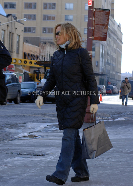 WWW.ACEPIXS.COM . . . . . ....March 3 2006, New York City....**EXCLUSIVE-FEE MUST BE AGREED BEFORE USE**....Actress Jessica Lange and Sam Shephard went for a stroll on a bright but chilly winter's day in the Meat Packing district in Manhattan........Please byline: BRETT KAFFEE-ACEPIXS.COM.... *** ***..Ace Pictures, Inc:  ..Philip Vaughan (212) 243-8787 or (646) 769 0430..e-mail: info@acepixs.com..web: http://www.acepixs.com