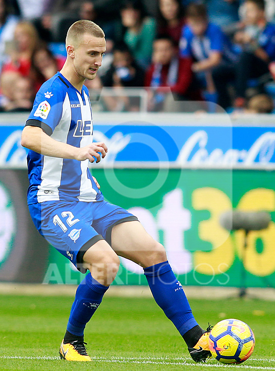 Deportivo Alaves' Rodrigo Ely during La Liga match. October 28,2017. (ALTERPHOTOS/Acero)