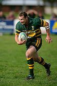 Pukekohes Kevin Farrell.Counties Manukau Premier Club Rugby, Pukekohe v Manurewa  played at the Colin Lawrie field, on the 17th of April 2006. Manurewa won 20 - 18.