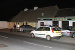 The scene of where Brian O'Reilly was shot three times on saturday evening before 11 pm at McDonoughs pub in Bettystown Co Meath..Picture Fran Caffrey/www.newsfile.ie.