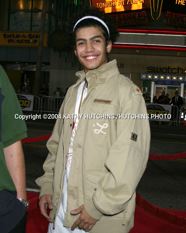 ©2004 KATHY HUTCHINS /HUTCHINS PHOTO.SKY CAPTAIN AND THE WORLD OF TOMORROW PREMIERE.HOLLYWOOD, CA.SEPTEMBER 14, 2004..RICK GONZALEZ