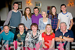 Helen Hanafin, Ardfert (seated centre) celebrated a special birthday last Saturday night in Cassidy's, Tralee (seated) l-r: Bernie Hanafin, Maureen Slattery, Helen Hanafin, Lisa Harmon and Gerard Hanafin. Back l-r: Tim and Yvonne Hanafin, John Slattery, Kathleen Harmon, Orla McCarthy and Kevin Hanafin.