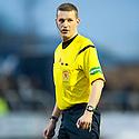 Referee Gavin Ross .