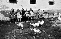 Rural Village outside Arad, Romania, July 1990