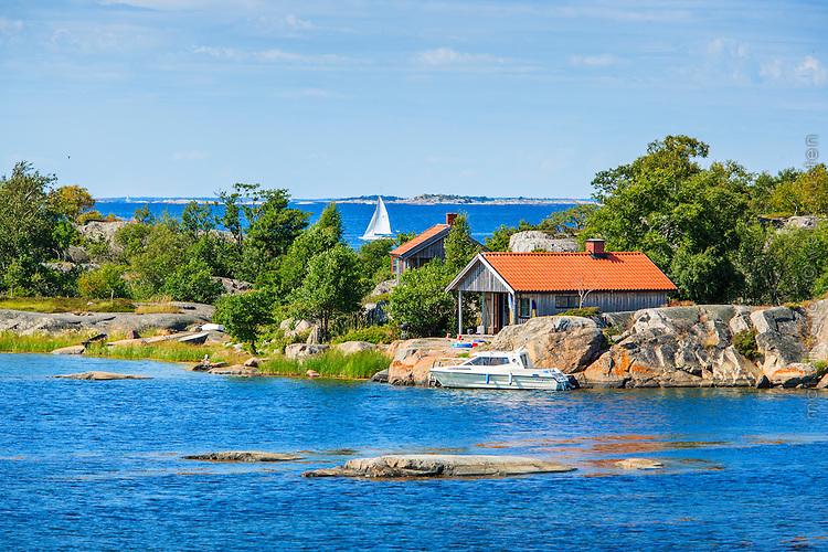 Stuga på Stora-Nassa i Stockholms skärgård