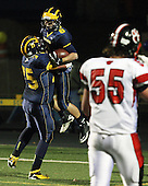 Grand Blanc at Clarkston, Varsity Football, 11/2/12