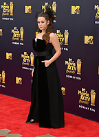 Katherine Langford at the 2018 MTV Movie &amp; TV Awards at the Barker Hanger, Santa Monica, USA 16 June 2018<br /> Picture: Paul Smith/Featureflash/SilverHub 0208 004 5359 sales@silverhubmedia.com