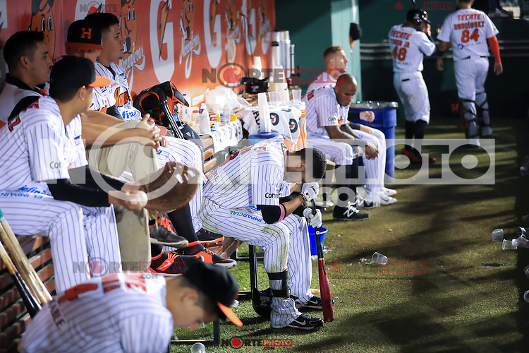 Jerry Owens, durante el 3er. encuentro de la serie de beisbol entre Tomateros vs Naranjeros. Temporada 2016 2017 de la Liga Mexicana del Pacifico.<br /> &copy; Foto: LuisGutierrez/NORTEPHOTO.COM