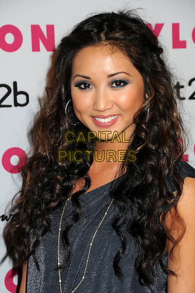 BRENDA SONG .Nylon Magazine's Young Hollywood Party held at the Roosevelt Hotel's Tropicana Bar, Hollywood, California, USA..May 12th, 2010.headshot portrait  blue grey gray eyeshadow make-up beauty .CAP/ADM/BP.©Byron Purvis/AdMedia/Capital Pictures.