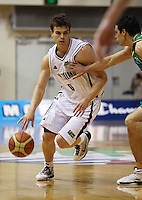 NZ captain Kirk Penney during the International basketball match between the NZ Tall Blacks and Australian Boomers at TSB Bank Arena, Wellington, New Zealand on 25 August 2009. Photo: Dave Lintott / lintottphoto.co.nz