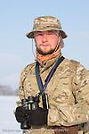 Krzysztof Pietrzak, ornitholoigst in Poland.