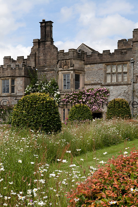 View of Haddon Hall from the Lower Garden