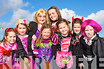 Pupils from Gaelscoil Aogain Castleisland celebrating Halloween in An Riocht track on Friday l-r: Grace Curtin, Meg Cronin, Lauren Cronin-Hickey, Aoibhi?n O'connor, Ann Scanlon, Katie McCarthy, Niamh Curtin and Una Brosnan   Copyright Kerry's Eye 2008