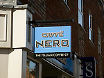 Caffe Nero Italian Coffee company sign