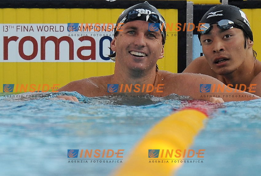 Roma 31th July 2009 - 13th Fina World Championships From 17th to 2nd August 2009....Swimming finals..Men's 200m breaststroke..Aaron Peirsol (USA) gold medal and new world record....photo: Roma2009.com/InsideFoto/SeaSee.com