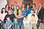 80TH: Paddy Courtney, Lissivane, Milltown (seated centre) celebrated his 80th birthday with his family in The Dromhall Hotel, Killarney, last Saturday..