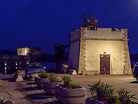 Torre del Gallo und Torre della Linguella im Hafen Darsena, Portoferraio, Elba, Region Toskana, Provinz Livorno, Italien, Europa<br /> Torre del Gallo und Torre della Linguella at Port Darsena, Portoferraio, Elba, Region Tuscany, Province Livorno, Italy, Europe