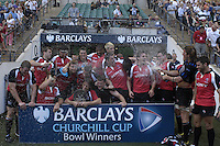 Twickenham, England.  Canada Churchil Cup Bowl Winners, during the Churchill Cup game, Canada vs USA, at Twickenham Stadium  02/06/2007 [Mandatory Credit Peter Spurrier/ Intersport Images]