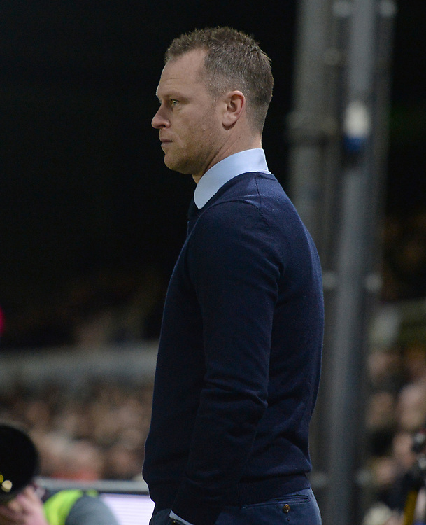 Newport County manager Michael Flynn prior to kick off <br /> <br /> Photographer Ian Cook/CameraSport<br /> <br /> The Emirates FA Cup Third Round - Newport County v Leicester City - Sunday 6th January 2019 - Rodney Parade - Newport<br />  <br /> World Copyright © 2019 CameraSport. All rights reserved. 43 Linden Ave. Countesthorpe. Leicester. England. LE8 5PG - Tel: +44 (0) 116 277 4147 - admin@camerasport.com - www.camerasport.com