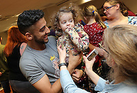 Pictured: Neil Taylor Tuesday 06 December 2016<br />Re: Swansea City FC Christmas Party at the Liberty Stadium, Wales, UK