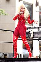 NEW YORK, NY - August 14, 2012: Nicki Minaj performs on NBC's Today Show Toyota Concert Series at Rockefeller Center in New York City. &copy; RW/MediaPunch Inc. /NortePhoto.com<br /> <br /> **SOLO*VENTA*EN*MEXICO**<br />  **CREDITO*OBLIGATORIO** *No*Venta*A*Terceros*<br /> *No*Sale*So*third* ***No*Se*Permite*Hacer Archivo***No*Sale*So*third*