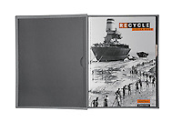 Recycle. Deluxe Collectors Edition. 25 copies. The book is in a handmade cloth bound box with an original inkjet print 20x29 cm. The print is a limited 25 editions of a picture which is part of the project, but not published in the book. Recycle was published in 2011 by Labor et Fides (french-english languages). 24x32 cm, 320 pages. Hard cover. 238 B&W Duplex. Photography Didier Ruef. Texts: Matthieu Ricard, Jean-Michel Cousteau, Bertrand Charrier. Carried out between 1991 and 2008 on the themes of waste and recycling, Didier Ruef captured a variety of situations which reveals the face of humanity behind the waste it produces, recycles or has to endure. The work of a committed photographer, which urge the reader to understand and act, more forcefully than conventional calls, to protect the environment. For centuries man has recovered and recycled the residues of his productive activities. Then came the era of waste as everyday companion. Our affluent societies are fueling the growing production of goods without taking into account the waste that generates in itself, becoming an industry whose purpose is its elimination. Today, faced with demographic and economic growth and the increasing fragility of the ecosystems, it is no longer possible to bury our refuse and toxic waste with the illusion that we have disposed of it forever, that it has been irreversibly sterilised. © 2011 Didier Ruef