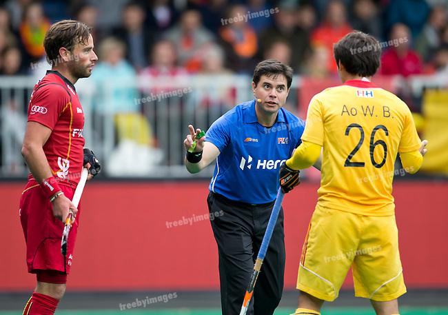 23/06/2015<br /> HWL Semi Final Antwerp Belgium 2015<br /> Belgium v China Men<br /> <br /> Photo: Grant Treeby