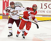 Alex Carpenter (BC - 5), Kaleigh Fratkin (BU - 13) - The Boston College Eagles tied the visiting Boston University Terriers 5-5 on Saturday, November 3, 2012, at Kelley Rink in Conte Forum in Chestnut Hill, Massachusetts.