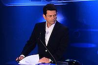 ATENCAO EDITOR: FOTO EMBARGADA PARA VEICULOS INTERNACIONAIS. - RIO DE JANEIRO, RJ, 05 DE SETEMBRO 2012 - ELEICOES 2012-DEBATE REDE TV -Otavio Leite do PSDB no debate eleitoral com os candidatos a Prefeito do Rio de Janeiro no Clube Monte Líbano, na Gavea, na zona sul do Rio de Janeiro.(FOTO: MARCELO FONSECA / BRAZIL PHOTO PRESS).