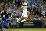 19 September 2014: North Carolina's Jonathan Campbell. The Duke University Blue Devils hosted the University of North Carolina Tar Heels at Koskinen Stadium in Durham, North Carolina in a 2014 NCAA Division I Men's Soccer match. Duke won the game 2-1.