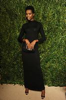NEW YORK, NY - NOVEMBER 6: Maria Borges at the 14th Annual CFDA Vogue Fashion Fund Gala at Weylin in Brooklyn, New York City on November 6, 2017. Credit: John Palmer/MediaPunch