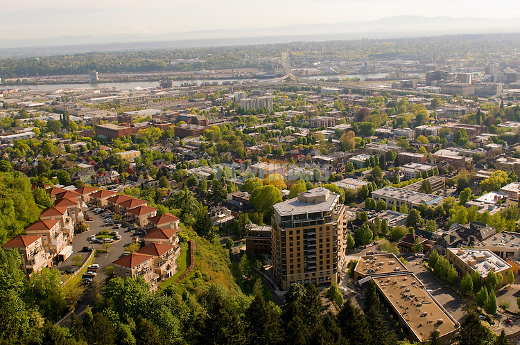Aerial View of the Westerly Condos in Northwest Portland, Oregon