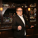 """Colm Meaney attends the Broadway cast of """"The Iceman Cometh""""  Press Photocall at Delmonico's on April 11, 2018 in New York City."""