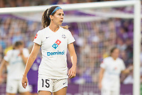 Orlando, FL - Saturday July 15, 2017: Erika Tymrak during a regular season National Women's Soccer League (NWSL) match between the Orlando Pride and FC Kansas City at Orlando City Stadium.