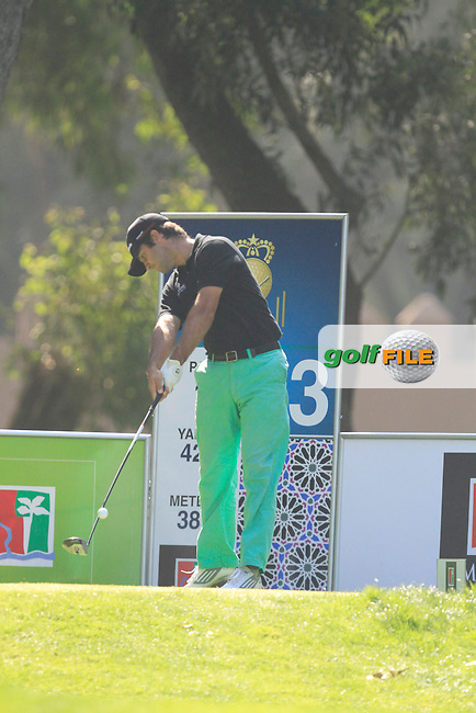 Jorge Campillo (ESP) during round 2 of the 41st edition of the Trophee HASSAN II  at the Golf Du Palais Royal D'Agadir in Agadir Morocco on Friday 14th March 2014<br /> Picture:  Thos Caffrey / www.golffile.ie