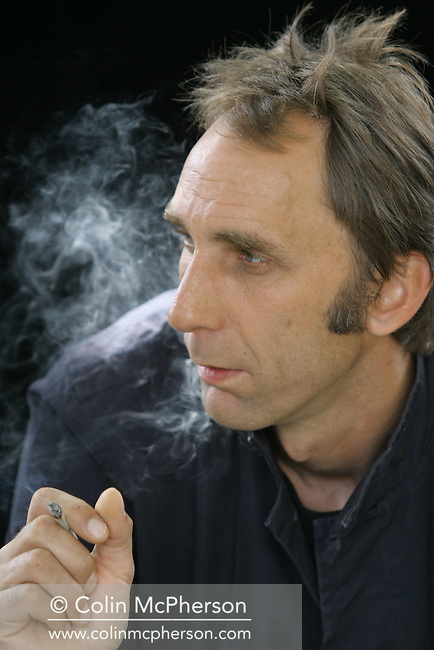 Controversial British author Will Self pictured at the Edinburgh International Book Festival where he talked about his new novel entitled The Book of Dave. The Book Festival was the World's largest literary event and featured writers from around the world. The 2006 event featured around 550 writers and ran from 13-28 August.