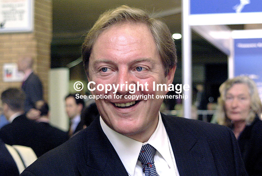 John Sykes, Conservative Party, Prospective Parliamentary Candidate, PPC, Scarborough & Whitby, Britain, UK, Ex-MP, 2000100290, Annual Conference, Bournemouth, England..Copyright Image from Victor Patterson, 54 Dorchester Park, Belfast, UK, BT9 6RJ..Tel: +44 28 9066 1296.Mob: +44 7802 353836.Voicemail +44 20 8816 7153.Skype: victorpattersonbelfast.Email: victorpatterson@mac.com.Email: victorpatterson@ireland.com (back-up)..IMPORTANT: If you wish to use this image or any other of my images please go to www.victorpatterson.com and click on the Terms & Conditions. Then contact me by email or phone with the reference number(s) of the image(s) concerned.