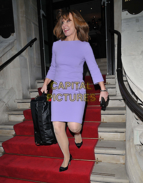 LONDON, ENGLAND - APRIL 22: Kay Burley attends the House of Fraser BAFTA TV &amp; Craft Awards Nominees party, Corinthia Hotel, Whitehall Place, on Wednesday April 22, 2015 in London, England, UK. <br /> CAP/CAN<br /> &copy;Can Nguyen/Capital Pictures