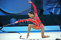 August 29, 2013 - Kiev, Ukraine - PANTELIA THEODOULOU of Cyprus performs at 2013 World Championships.
