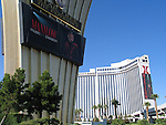 BARRY MANILOW - MUSIC AND PASSION.playing at the Vegas Hilton Hotel in Las Vegas, Nevada..( Hotel / Theatre Marquee ).July 7, 2005.