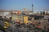 Kashi, Xinjiang Province, May 2014 - Old quarter