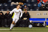 Notre Dame Fighting Irish defender Max Lachowecki (6). The Notre Dame Fighting Irish defeated the Maryland Terrapins 2-1 during the championship match of the division 1 2013 NCAA  Men's Soccer College Cup at PPL Park in Chester, PA, on December 15, 2013.