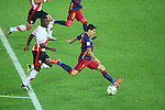 Luis Suarez (Barcelona), <br /> DECEMBER 20, 2015 - Football / Soccer : <br /> FIFA Club World Cup Japan 2015 <br /> Final match <br /> between River Plate - FC Barcelona <br /> at Yokohama International Stadium in Kanagawa, Japan. <br /> (Photo by YUTAKA/AFLO SPORT)