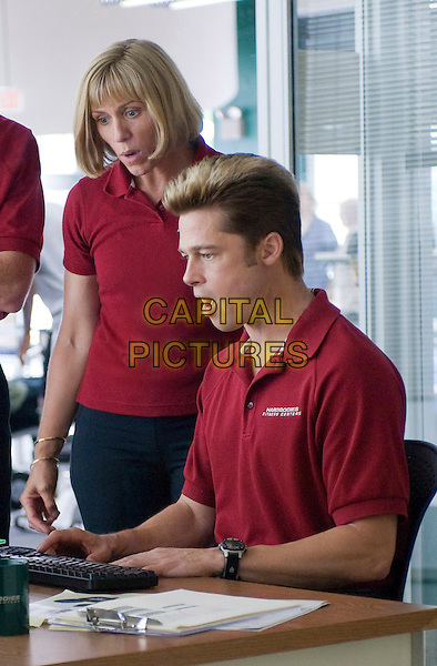 FRANCES McDORMAND & BRAD PITT.in Burn After Reading.*Filmstill - Editorial Use Only* .CAP/FB .Supplied by Capital Pictures